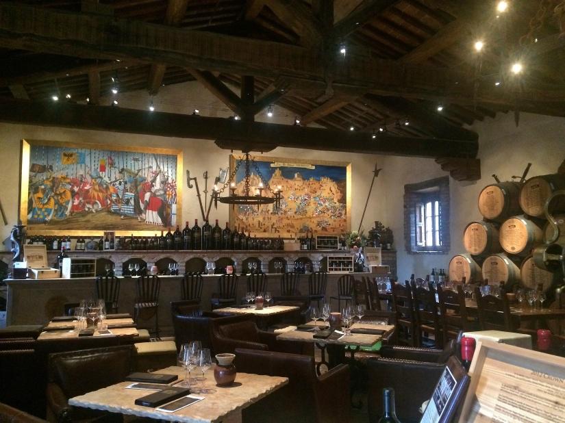 Wine Tasting at Castello diAmarosa